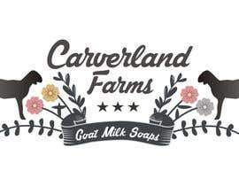 #15 untuk Design a Logo for Carverland Farms Goat Milk Soap oleh amjadawan1
