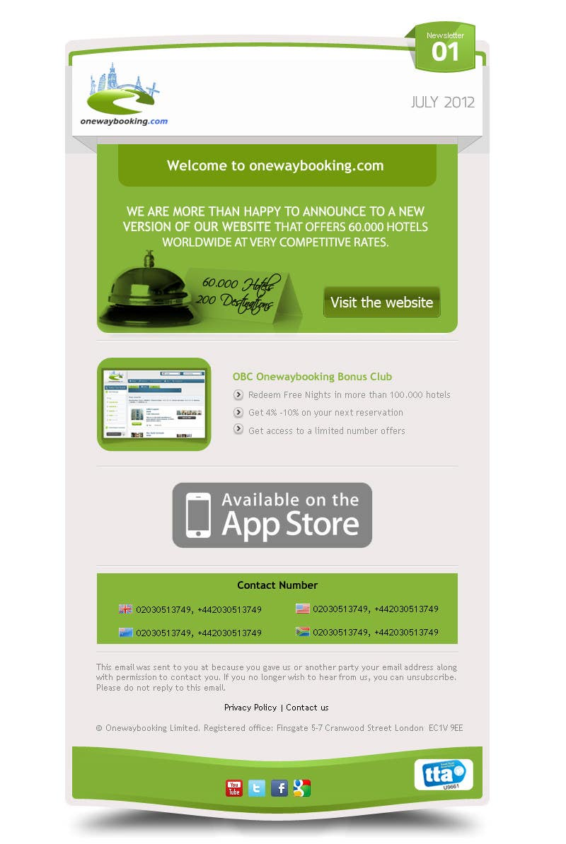 #2 for Email Newsletter Design by chithrarahul