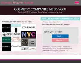 #65 untuk Design a Website Mockup for Cosmetic Research Institute oleh ubkf