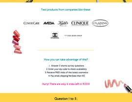 #46 untuk Design a Website Mockup for Cosmetic Research Institute oleh amineatlassi