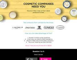 #87 untuk Design a Website Mockup for Cosmetic Research Institute oleh amineatlassi