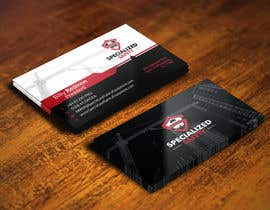 #69 untuk Design A Business Card for Specialized Safety oleh youart2012