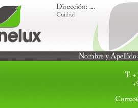 #20 untuk Diseñar algunas tarjetas de presentación for Canelux oleh wfreelace1