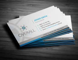 #66 untuk Design some Business Cards for UAV/Drone Aerial Photography Company oleh ashanurzaman