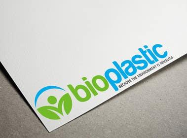 #80 untuk Design  a Logo for BIOPLASTIC oleh zubidesigner
