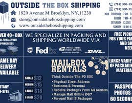 #22 for FLYER DESIGN: Shipping Store Services with Coupons by MooN5729