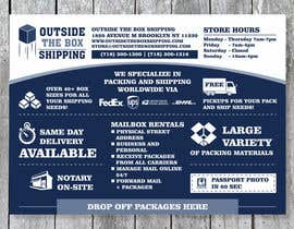 #36 for FLYER DESIGN: Shipping Store Services with Coupons by barinix