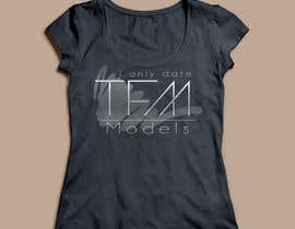 #23 untuk Design a T-Shirt for a model and Non profit company oleh Corynaungureanu