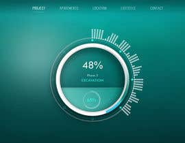 #16 untuk Design progress clock for international website oleh niloynil445