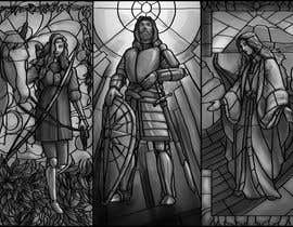 camilozm tarafından Fantasy illustration: stained glass windows için no 17
