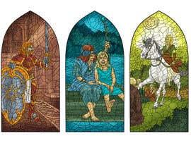 ajvdw tarafından Fantasy illustration: stained glass windows için no 12