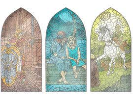 ajvdw tarafından Fantasy illustration: stained glass windows için no 16
