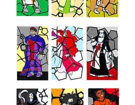 jonesdanresume tarafından Fantasy illustration: stained glass windows için no 7