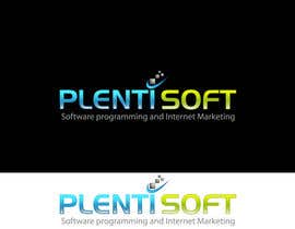 #601 untuk Logo Design for Plentisoft - $490 to be WON! oleh wdmalinda
