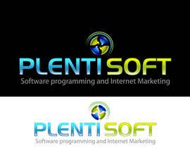 #648 untuk Logo Design for Plentisoft - $490 to be WON! oleh wdmalinda