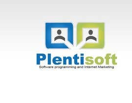 #530 pentru Logo Design for Plentisoft - $490 to be WON! de către daviddesignerpro