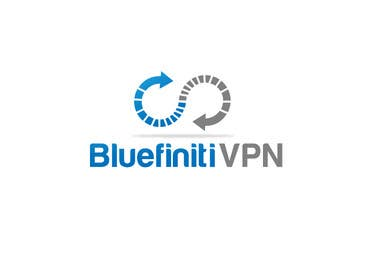 #86 para Design a Logo for BluefinitiVPN por rraja14