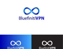 #83 para Design a Logo for BluefinitiVPN por AbdallaGad