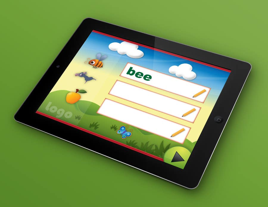 #51 for Design of a User Interface for a Kids Educational Game by PereViki