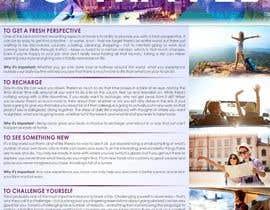 "designciumas tarafından ""5 Reasons to Travel"" banner needed için no 7"