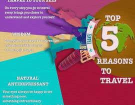 "wlknzn tarafından ""5 Reasons to Travel"" banner needed için no 16"