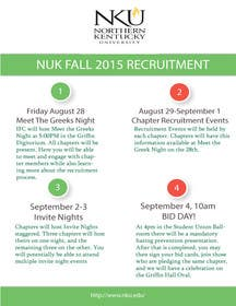 #9 untuk Interfraternal Council Flyer oleh blissed