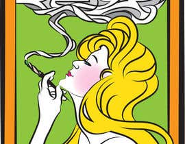 #17 untuk CONTEST: I need a rad illustration of a joint (aka spliff, jay, doobie) oleh frostyerica