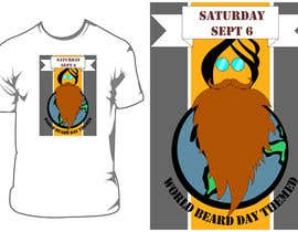 joelsonsax tarafından Design World Beard Day Themed T-Shirt için no 10
