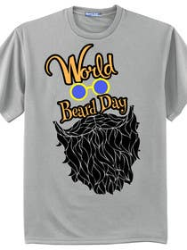 lavdas215 tarafından Design World Beard Day Themed T-Shirt için no 13