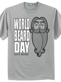 lavdas215 tarafından Design World Beard Day Themed T-Shirt için no 14
