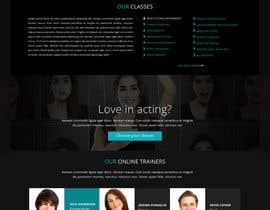 greenarrowinfo tarafından Design a Website Mockup for an online institute için no 4