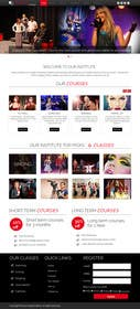 dimplesharma28ma tarafından Design a Website Mockup for an online institute için no 11