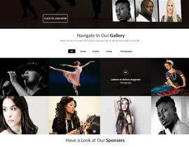 harisramzan11 tarafından Design a Website Mockup for an online institute için no 14
