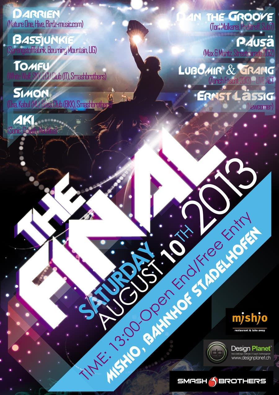 Music Festival Poster poster design for electronic music festival ...