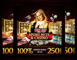 #8 for Design a Banner for Casino & Sportbook Bonus by designzforworld