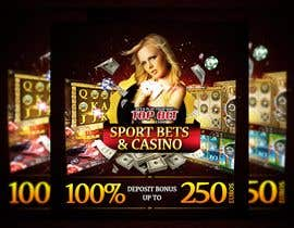#8 untuk Design a Banner for Casino & Sportbook Bonus oleh designzforworld