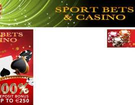 #10 untuk Design a Banner for Casino & Sportbook Bonus oleh matula1978