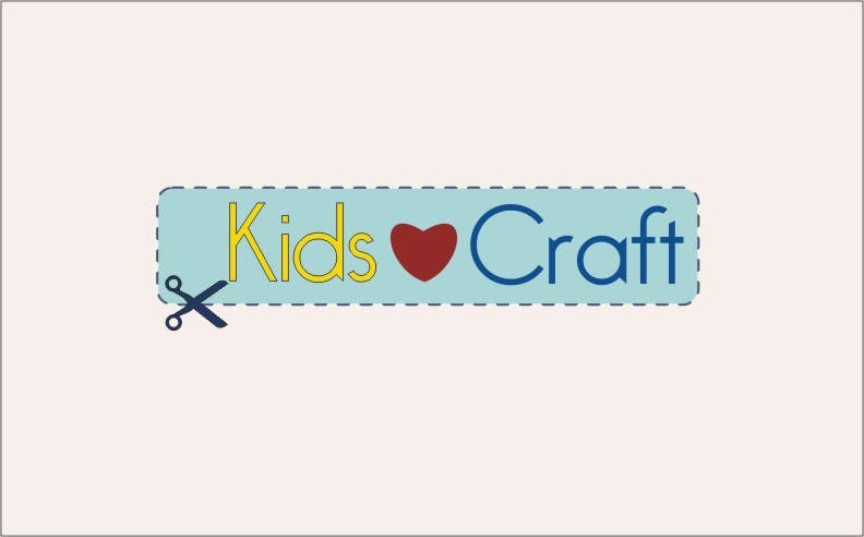 #50 for Kids craft site n logo by fitasari