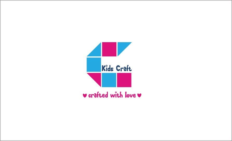 #57 for Kids craft site n logo by fitasari