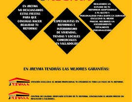 #1 untuk Diseño de flyer para empresa de reformas tamaño A5 oleh loreedelcanto