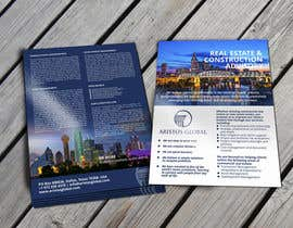 #30 untuk Design a marketing flyer for a global real estate/construction consulting firm oleh barinix