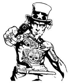#21 untuk Design Uncle Sam Gangster oleh mogado