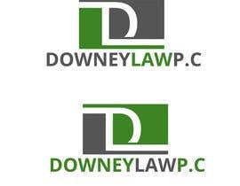 KhawarAbbaskhan tarafından Design a Logo for DOWNEY LAW, P.C. için no 32
