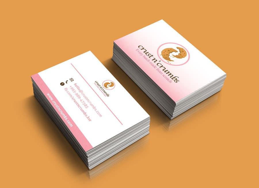 Entry #2 by vonnydu for Design business cards for home based Bakery ...