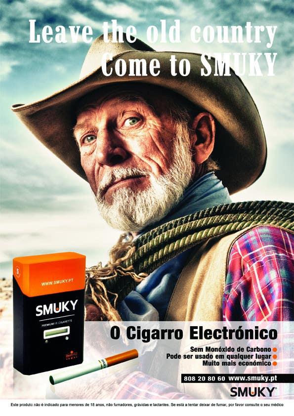 Konkurrenceindlæg #                                        76                                      for                                         Magazine Advertisement for SMUKY