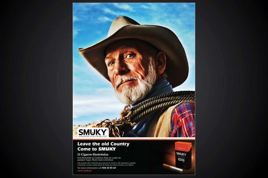 Konkurrenceindlæg #                                        11                                      for                                         Magazine Advertisement for SMUKY