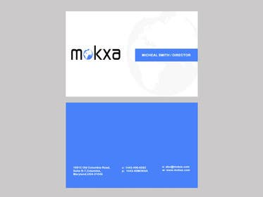 #2 for Design some Business Cards for Mokxa Technologies LLC by POONAKHATRI