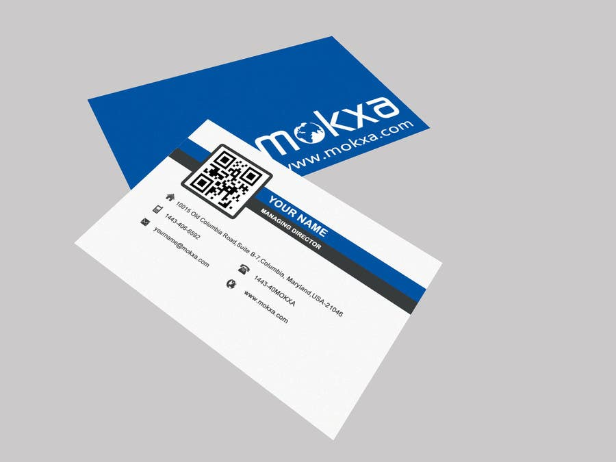 #22 for Design some Business Cards for Mokxa Technologies LLC by POONAKHATRI