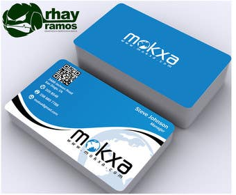 #24 for Design some Business Cards for Mokxa Technologies LLC by rhayramos11