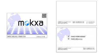#11 for Design some Business Cards for Mokxa Technologies LLC by rahulgandhi83